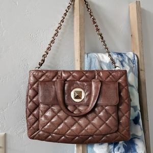 Authentic vintage Kate Spade quilted bag